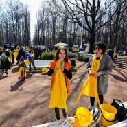 Субботник в Нескучном саду 2018 фотографии