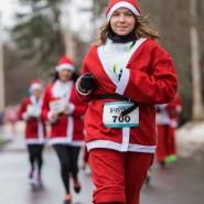 Благотворительный забег Дедов Морозов 2016 фотографии