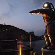 Открытие скульптуры «Водолаз-Маяк» фотографии