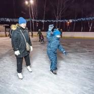 Катки в парке Усадьба Воронцово 2019/2020 фотографии