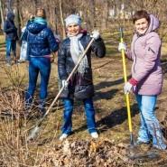 Субботники в московских парках фотографии