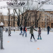 «JAZZ каток» в Саду «Эрмитаж» 2020-2021 фотографии