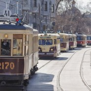 Парад трамваев 2018 фотографии