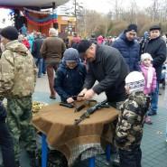 «День мужчин» в Лианозовском парке фотографии
