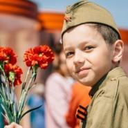 Проект «Парковый стихоговоритель: дети о Победе» фотографии