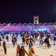 Каток «Лед» в парке «Сокольники» 2019/2020 фотографии