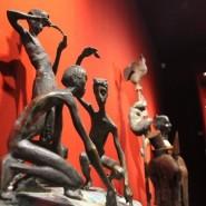 Выставка «Метаморфозы. Образ и пространство в московской скульптуре» фотографии