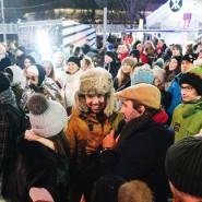 Новогодняя ночь в Парке Горького 2020 фотографии