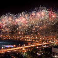 Салют на День города Москвы 2019 фотографии