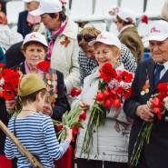 День Победы в саду имени Баумана 2019 фотографии
