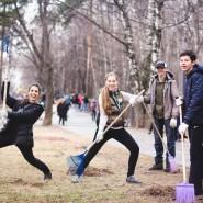 Субботники в парках Москвы 2016 фотографии