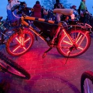 Пушкинская велоночь фотографии