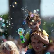 Парад мыльных пузырей «Dreamflash» 2015 фотографии