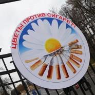 Акция «Цветы против сигарет» фотографии