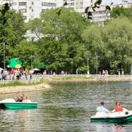 Водные прогулки в парках Москвы 2020 фотографии