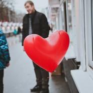 День всех влюбленных в парках Москвы 2016 фотографии