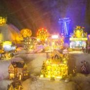Новогодние праздники в парке «Сокольники» фотографии