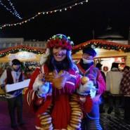 Рождественская ярмарка на Красной площади фотографии