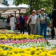 Фестиваль цветов в ГУМе 2017 фотографии