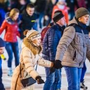 Открытие зимнего сезона в Гончаровском парке 2015 фотографии