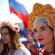 День флага России в Москве 2019 фотографии