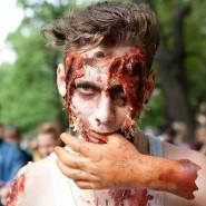 «Зомби-забег» в Кузьминках фотографии
