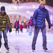 Зимний сезон на ВДНХ 2020-2021 фотографии