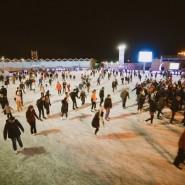 Акция «Ночь на катке» 2016 фотографии