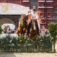 Выступления Кремлевской школы верховой езды в Коломенском 2019 фотографии