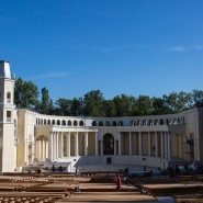 Зеленый театр на ВДНХ фотографии