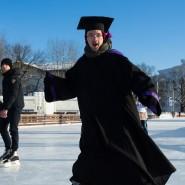 День студента на катке ВДНХ 2018 фотографии
