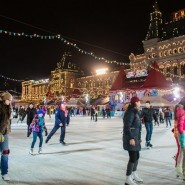 ГУМ-Каток на Красной площади 2015 фотографии