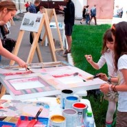 Детский фестиваль «Москва на асфальте» 2015 фотографии