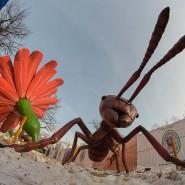 Парк гигантских насекомых на ВДНХ фотографии