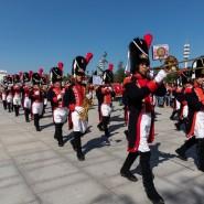 Шествие участников фестиваля «Спасская башня» на ВДНХ 2019 фотографии