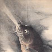 Выставка одного экспоната «Карп превращается в дракона» фотографии