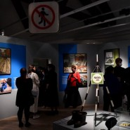 Выставка «Обратная сторона метро» фотографии