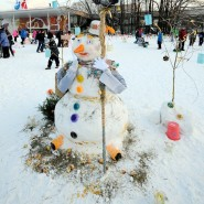 Арт-битва снеговиков фотографии