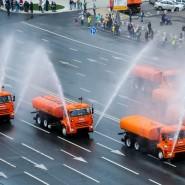 Московский парад городской техники 2019 фотографии