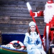 Новогодняя елка на корабле Деда Мороза 2017 фотографии