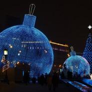 Новогодняя ночь в Парке Победы на Поклонной горе 2020 фотографии