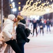 День всех влюбленных в Парке Горького 2019 фотографии
