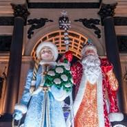Светящиеся скульптуры и арт-объекты на Поклонной горе 2017/18 фотографии