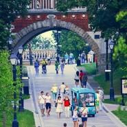 Школьные каникулы в московских парках фотографии