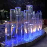 Интерактивный арт-объект «Ледяной орган» 2016 фотографии