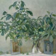 Выставка «Художники Школы и Академии акварели. Живопись, графика» фотографии