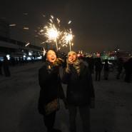 Новый год в Парке искусств МУЗЕОН 2016 фотографии