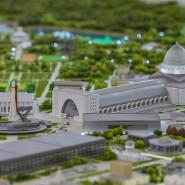 Архитектурный макет ВДНХ фотографии