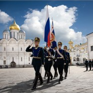 Развод конных и пеших караулов Президентского полка 2016 фотографии