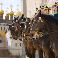 Развод конных и пеших караулов Президентского полка 2018 фотографии